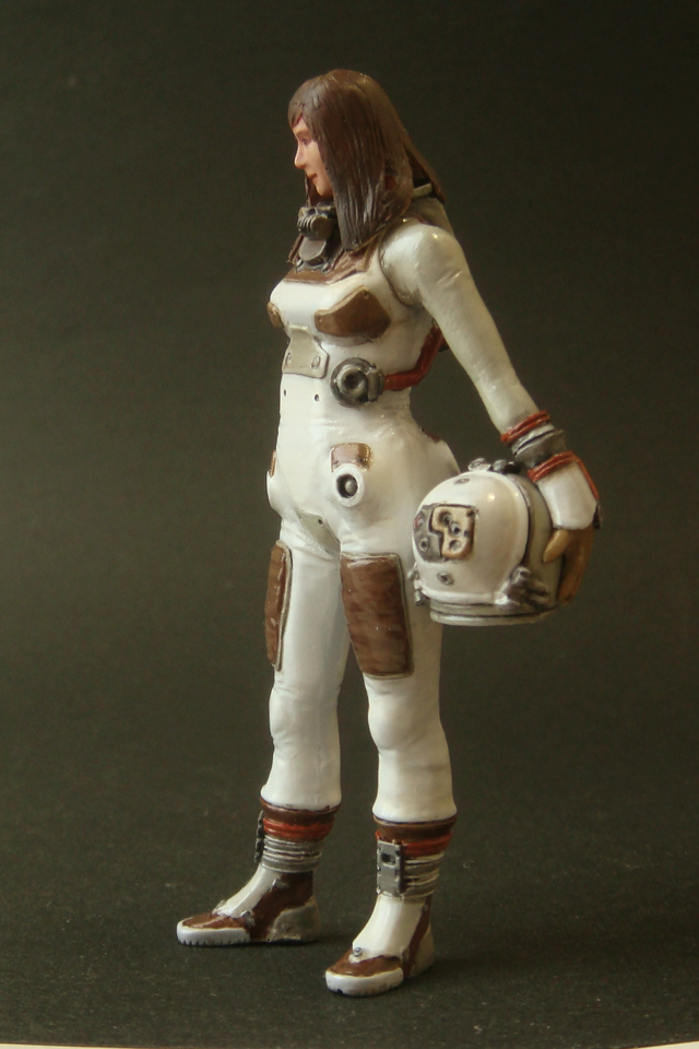 girl astronaut-#40